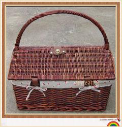 Salgueiro Dom piquenique de vime cestas cestaria alimentar
