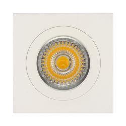 GU10 MR16 G5.3 het Vierkant bevestigde de Wit In een nis gezette Inrichting van de Huisvesting van de LEIDENE Verlichting van Downlight (LT1103)