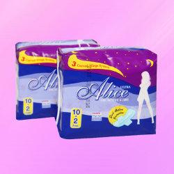 Санитарные Napkin хлопка и санитарных полотенце (JHS006)
