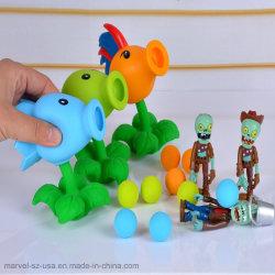Pvz Pflanzen gegen Zombies Peashooter Kurbelgehäuse-Belüftung scherzt Geschenk-Vorgangs-Abbildung Modell-Spielzeug