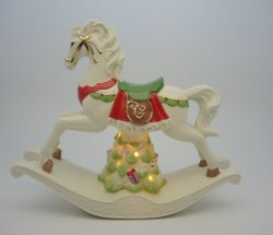 Rocking Horse en porcelaine