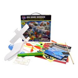 Het Speelgoed van het Vliegtuig van de Vlucht van de Gift DIY van de beste Jongen van de Verkoop voor Jonge geitjes