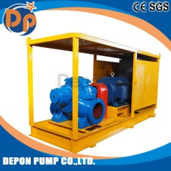 Bewässerung-Wasser-Pumpen-System mit Schrank, Vakuumpumpe, Regen-Beweis-Deckel