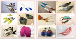 Feather Earring (FT8009)