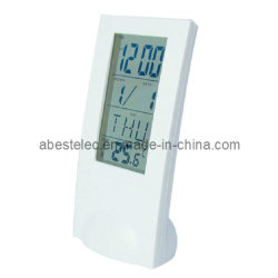 Kontrollturm Time&Temperature Table Clock mit Transparent Clock Display