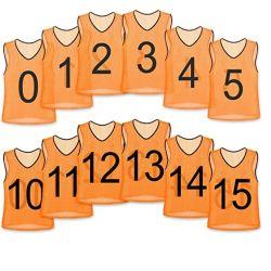 Индивидуальный логотип, 100% полиэстер нейлоновой сетки Scrimmage Группа практике жилеты футболках NIKEID