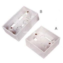 Venta caliente tipo caja posterior de la placa frontal