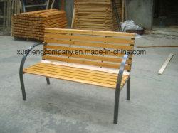 屋外の鋳鉄および木庭のベンチ公園の椅子