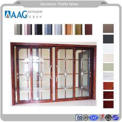 Нормальный порошковое покрытие алюминиевого сплава материала для алюминиевая рамка окна и двери