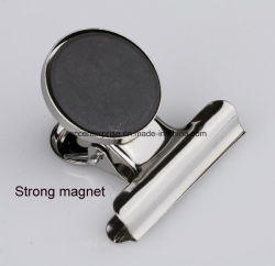 50mm/38mm/31mm Round Head Metal Spring Magnetic Clip