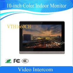 De 10-duim van kabeltelevisie van de Veiligheid van Dahua VideoIntercom van de Monitor van de Kleur de Binnen (VTH1660CH)