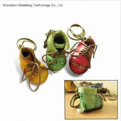 Обувь форма флэш-накопителей USB флэш-памяти из натуральной кожи