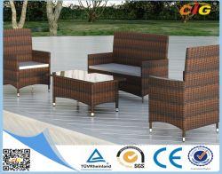 Différents populaire PE de meubles de jardin en rotin