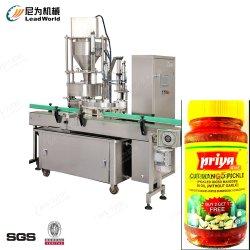 Rettich-Essiggurke-Glas-Flasche macht automatischen Füllmaschine-Produktionszweig ein