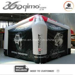Publicidade insuflável tenda a estrutura da almofada insuflável galpão de plástico (BMTT14)