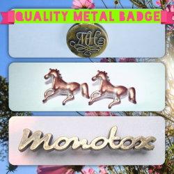 금속 Label, Metal Badge, Clothing (MTBG 0002)를 위한 Alloy Brass Label