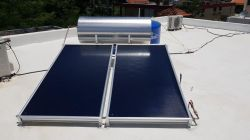 300L Compact geyser de basse pression chauffe-eau solaire