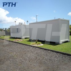 Un paquete plano Casa contenedor prefabricado como Hotel de lujo