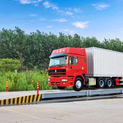 80t Structure en acier pont de l'échelle de camions de poids avec cellule de charge