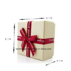 紙製段ボール箱ギフト包装シルクの Knot を使った印刷