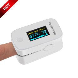 Equipamento médico aprovado pela CE SpO2 grossista de baixo custo de mão Visor OLED barato o oxímetro de pulso na ponta dos dedos