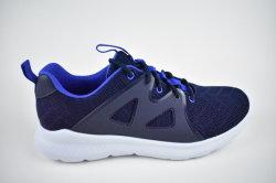 Lo stile superiore di vendita caldo del Knit respirabile comodo della mosca di modo della scarpa da tennis dell'uomo mette in mostra i pattini