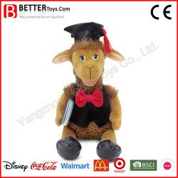 Los animales de peluche Doctor Cordero muñeco de peluche oveja de peluche para regalo