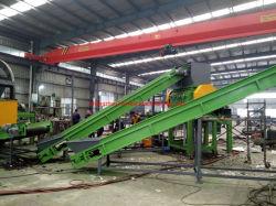 Wiederverwertung des überschüssigen Gummireifens zur Gummipuder-Körnchen-Maschine, die verwendete Gummiräder aufbereitet