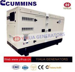 Le silence de la canopée 32.5-302kVA Diesel Power générateur électrique avec moteur Cummins[IC180123A]