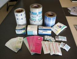 医学のパッキングは棒または綿棒または準備をパッドまたはアルコール綿の殺菌のアルミホイルの紙袋のための生殖不能の袋の医学の袋を袋に入れる