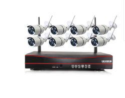 8CH Uitrusting van het Toezicht NVR van het Systeem van kabeltelevisie van de Veiligheid van het Huis van de Camera van WiFi IP van de Visie van de 1080PHD de Draadloze IRL Nacht Video
