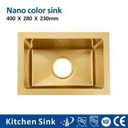 انقض على مقياس ال PVD Nano R10 18المقياس 32 بوصة في أمريكا الجنوبية جبل واحدة اثنان غسل قصع [سس] 304 [ستلس] فولاذ وحدة امتصاص لمشروع إسكان مع حوض مطبخ تصريف الأرضية