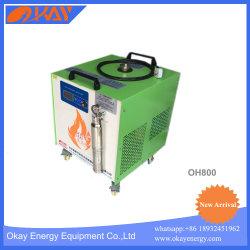 Hho gas oxhídrico soldadura de tubo de cobre de soldador de H2O.
