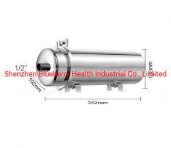 de Zuiveringsinstallatie van het Water van de 0.01mlUm 1000L/H Ultrafiltratie PVDF/de Zuiveringsinstallatie SUS304 van de Filter van het Leidingwater/van het Drinkwater (102mm diameter)