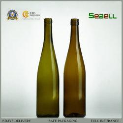 750ml Cork haut Bvs Haut Rhin Bouteille de vin en verre (NA-049)