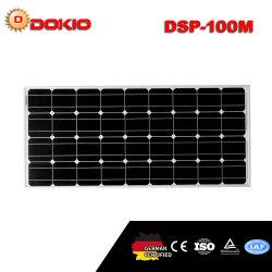 18V 100W высокой эффективности Monocrystalline Солнечная панель с маркировкой CE ISO TUV сертификат IEC