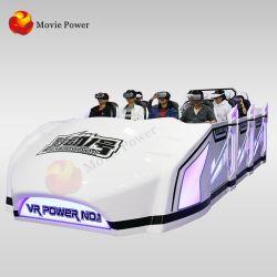 Parc à thème simulateur de mouvement VR 9D 12 Seaats Simulateur de théâtre Vr navire spatial