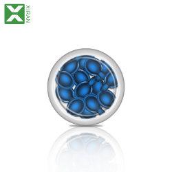 2個のカラー人工的な釘のきらめきの真珠、混合されたサイズの釘の魅力のラインストーンの真珠、釘の芸術のツールの非熱い苦境のきらめきはPT44を真珠で飾る