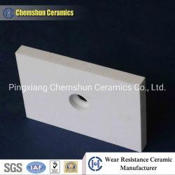 Bestand Lasbare Alumina van de schuring Van keramische steen als BinnenVoering van de Helling