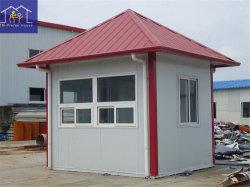 Construções prefabricadas portátil durável House/contentor House Guarita para venda com estrutura de aço