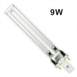 lampade UV-C di sterilizzazione a raggi ultravioletti del H-Tubo della lampada 253.7nm di 9W Pls