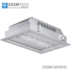 IP66 50 Watt LED-overkapping voor gasstationverlichting