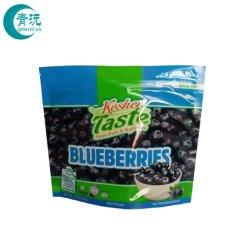 Precios baratos para el embalaje de plástico vacío de algodón de azúcar de la bolsa de cremallera de alimentos