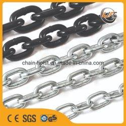 En818-2 стандарта G80 ЧЕРНЫЙ легированная сталь сварной звеньями 6-42мм МЕТАЛЛИЧЕСКИЕ подъемные цепи заводская цена