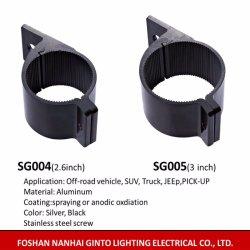 66mm Aluminium LED-montagebeugel voor de voertuigverlichting voor de bumper