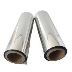 Gemetalliseerd huisdier, gemetalliseerd, gemetalliseerd, gemetalliseerd, 12um spiegelend, 6-MIC/8-MIC/10-MIC/12-micron/15-micron PE-film