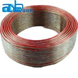 12AWG 선단 선전용 구리 전도율\n soft PVC Flexible 스피커 케이블