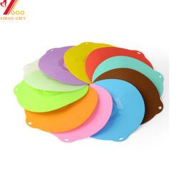La couleur du silicone de qualité alimentaire personnalisé tasse de thé couvercle/couvercle/Cap pour la vente