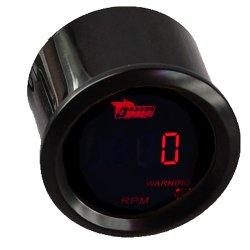 LEIDENE van de Motor van de Auto van 52mm van de Digitale Rode LEIDENE van de Tachometer de Lichte Tachometer van de Vertoning Meter van de Maat
