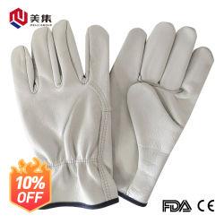 Faites-en-Chine sur la peau de mouton les gants peuvent fournir des échantillons gratuits avec de bons prix chaleureux et agréables à porter